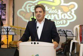Feira dos Santos cerimónia de abertura oficial