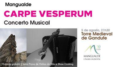 Concerto 'Carpe Vesperum' na Torre Medieval de Gandufe